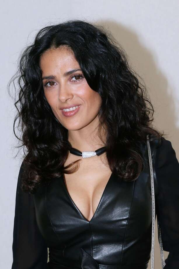 "Salma Hayek's breasts are frequently requested by women able to accommodate a more curvy figure. ""She's very popular with woman who can go to a bigger cup size"" Dr. Miranda said. Photo: Bertrand Rindoff Petroff, Getty Images"