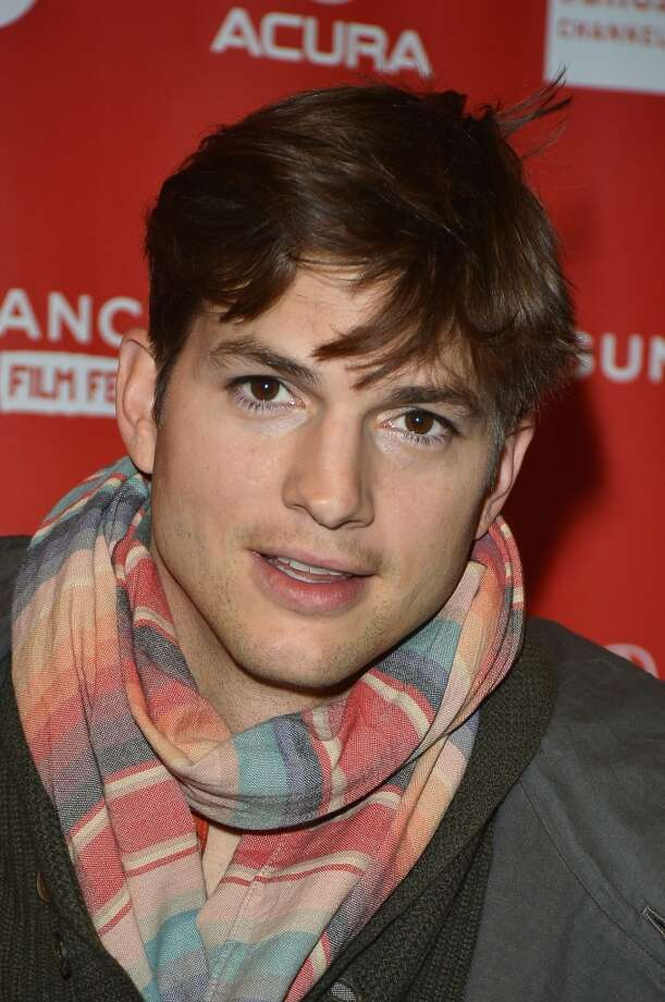 Ashton Kutcher's cheekbones are commented on frequently by Dr. Miranda's male patients. Photo: George Pimentel, Getty Images