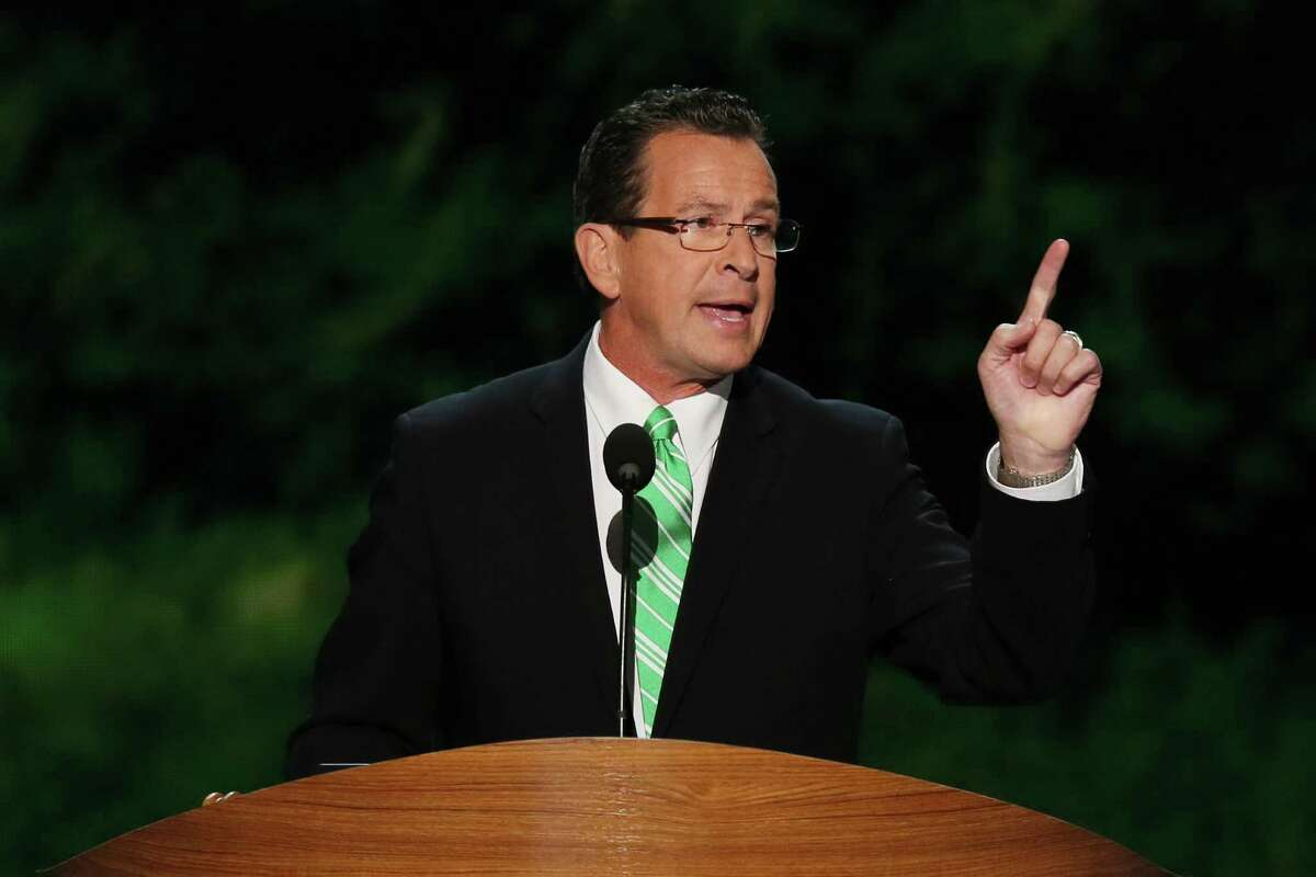 Connecticut Gov. Dannel Malloy speaks during day two of the Democratic National Convention at Time Warner Cable Arena on September 5, 2012 in Charlotte, North Carolina. The DNC that will run through September 7, will nominate U.S. President Barack Obama as the Democratic presidential candidate.