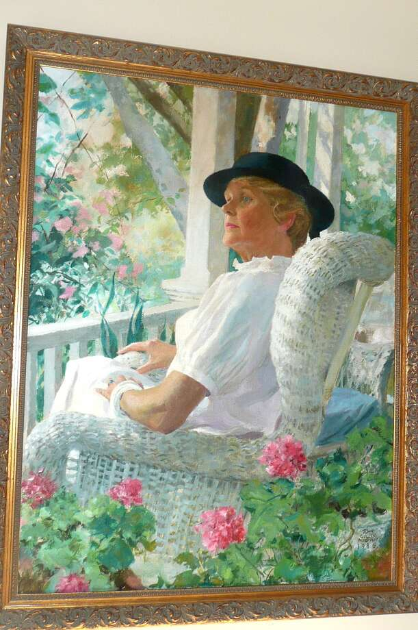 A portrait of Joan Murphy by her husband, 'Prince Valiant' artist John Cullen Murphy. Photo: Contributed Photo