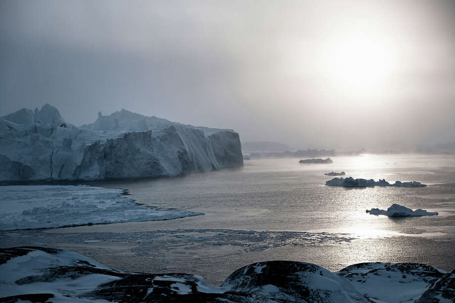 "Denmark: Ilulissat Icefjord""Located on the west coast of Greenland, 250 km north of the Arctic 