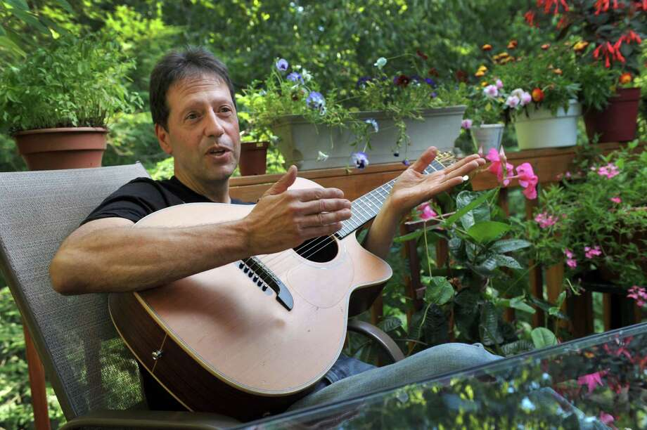 "Frank Chiafari, a Stamford, Conn.  police officer who lives in Brookfield has connections with Ed and Lorraine Warren, subjects of the hit horror film, ""The Conjuring,'' and has performed some songs related to that relationship. Photo: Carol Kaliff / The News-Times"