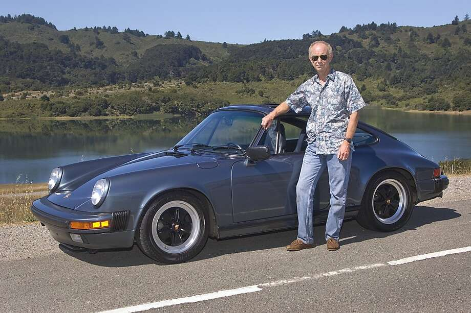 Craig Gower and his 1988 Porsche 911 Photo: Stephen Finerty