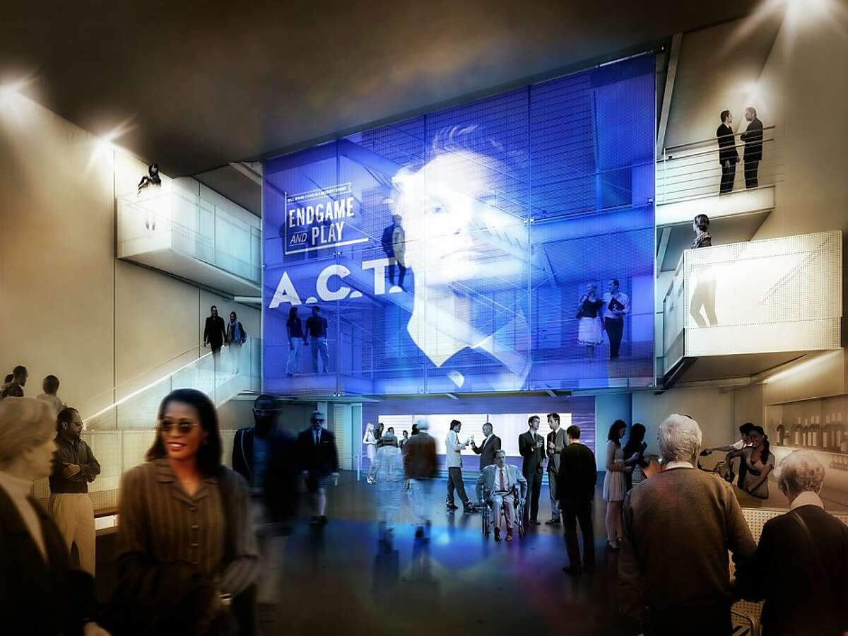 Lobby of the new A.C.T. Strand Theater