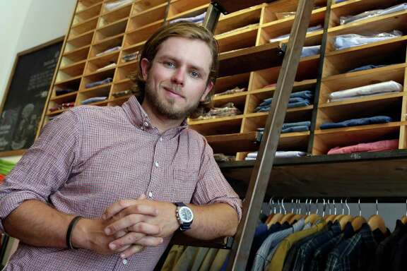 Michael Maher, co-owner of Taylor Stitch in San Francisco, used his savings to start the company.