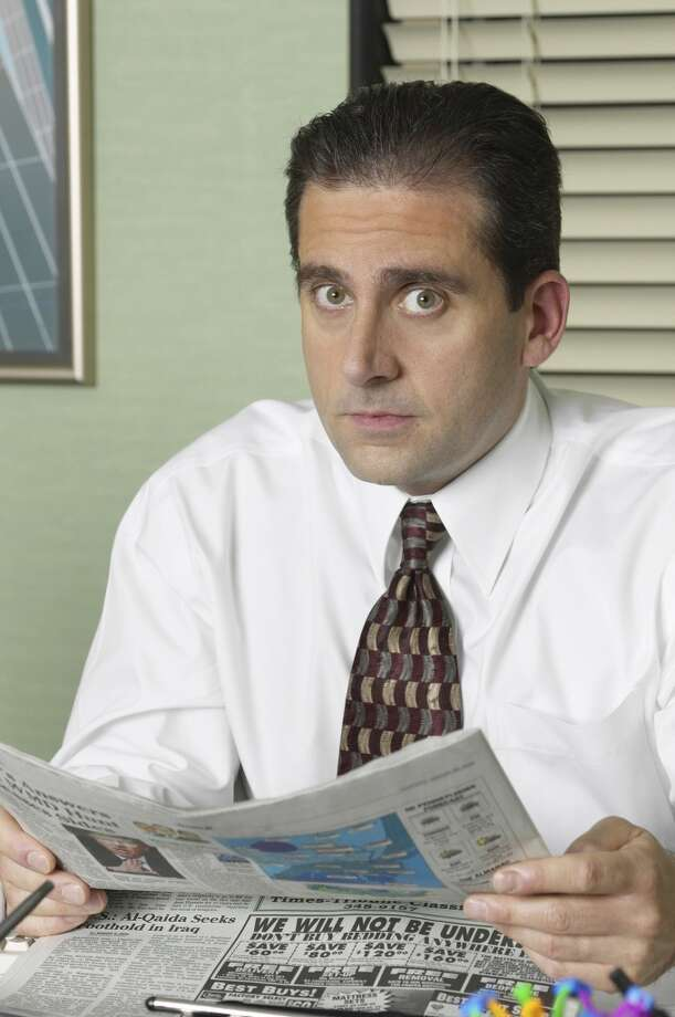 Steve Carell in the early days of 'The Office.' Photo: NBC, NBC Via Getty Images