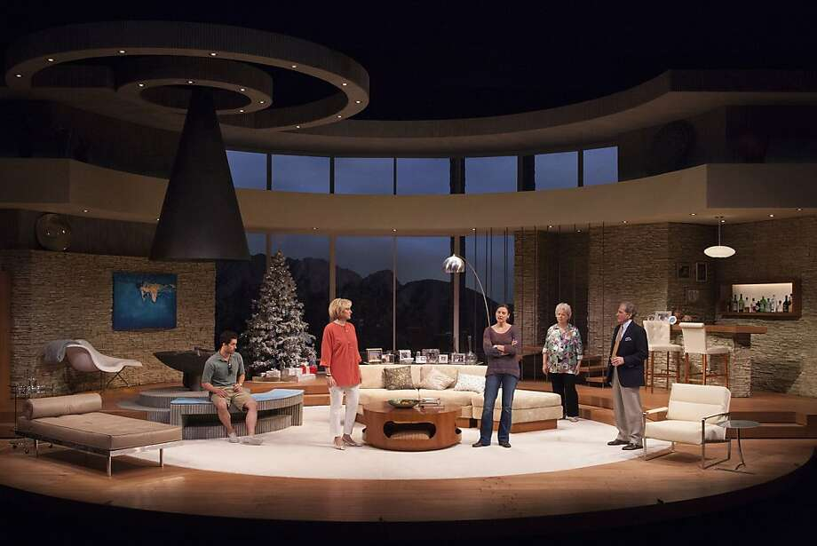 "The set of ""Other Desert Cities"" will travel from the Old Globe to TheatreWorks for the co-production of the Broadway hit Wednesday to Sept. 15. Photo: Snaps Studio For The Old Globe"