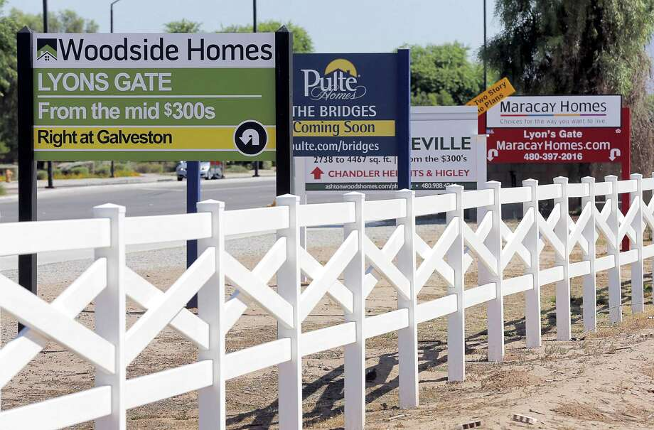 New homes spring up in the Phoenix area. The biggest price gains are occuring in states that experienced the worst housing bust.