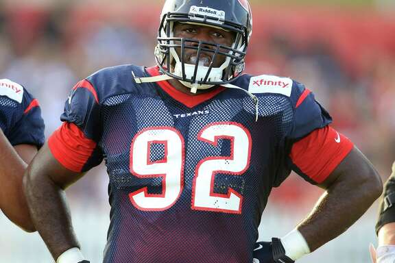 Houston native Earl Mitchell is in line to take over the role of starter at nose tackle this season.