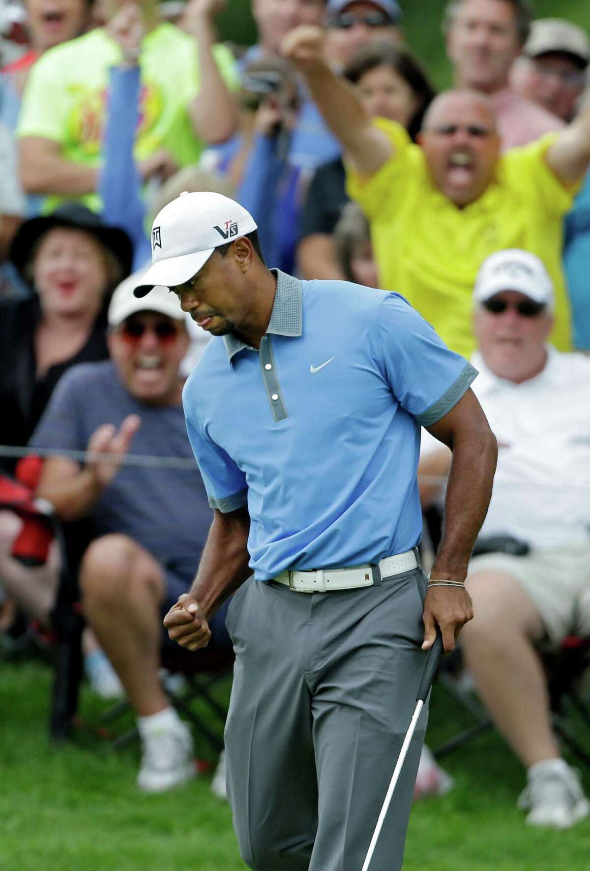 On Friday at the Bridgestone Invitatonal, Tiger Woods shot a 61 for just the fourth time in his career.