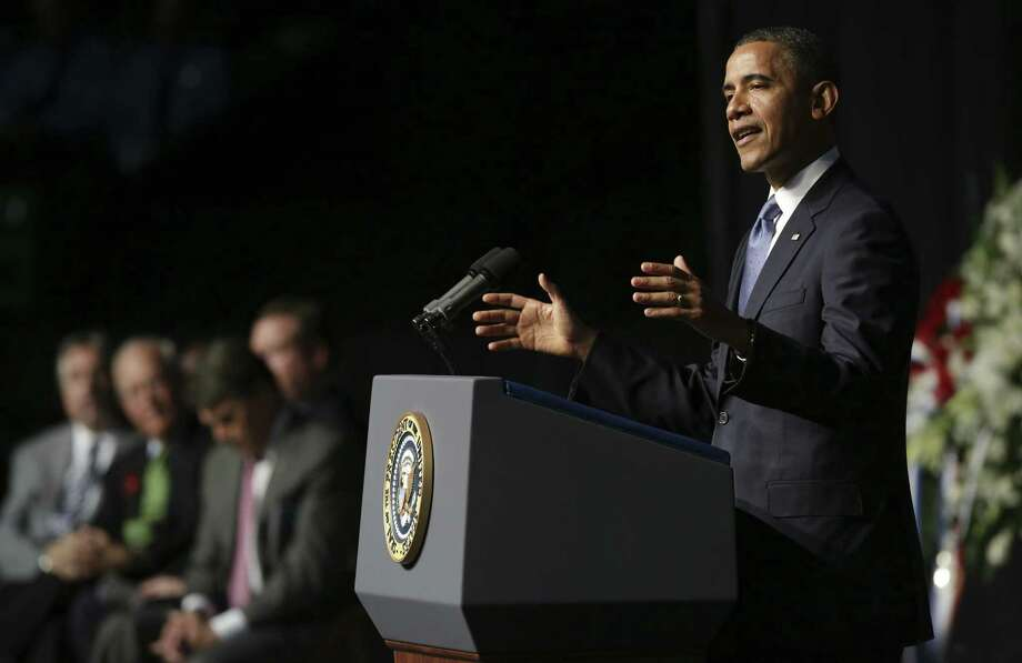 "President Barack Obama on Friday approved Gov. Rick Perry's request to declare a ""major disaster."" Photo: San Antonio Express-News / File Photo"