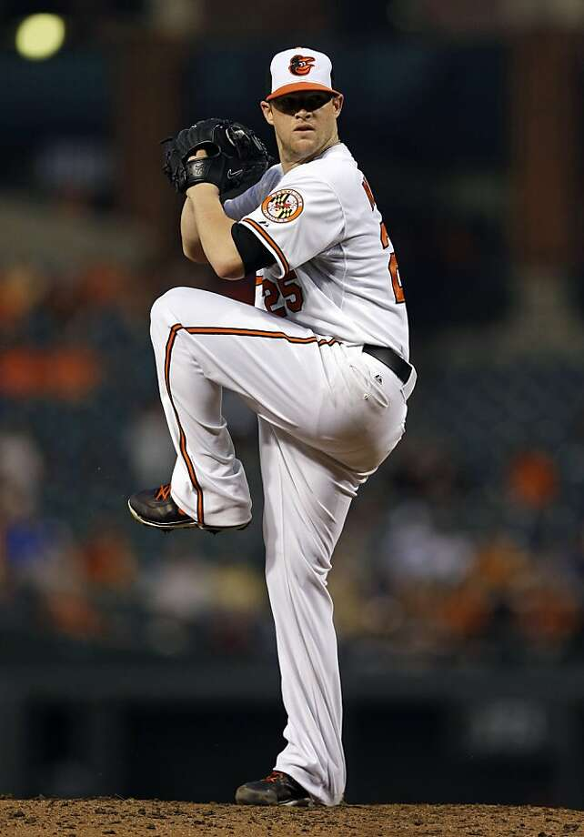 With the Astros until Wednesday, Bud Norris beat them Thursday. Photo: Patrick Semansky, Associated Press