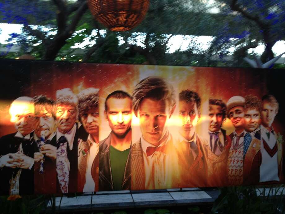 A banner featuring all the Doctors presided over the affair. Photo: Jeanne Jakle