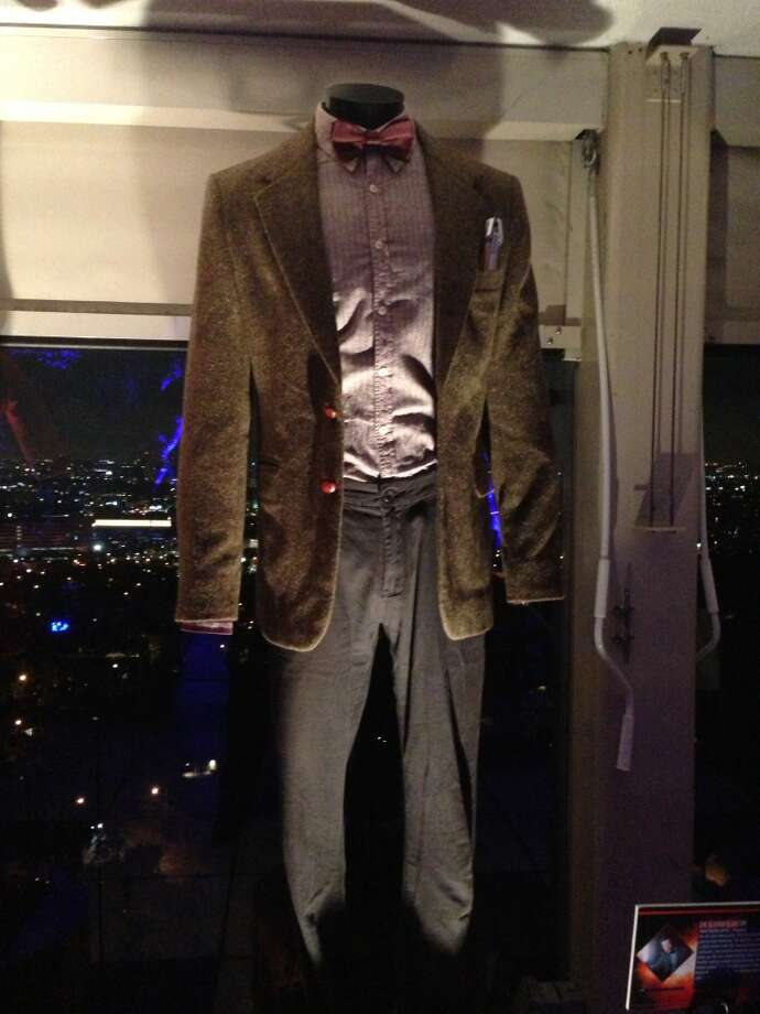 Matt Smith's original 'Who' costume with trademark bow tie was one of many outfits on display. Photo: Jeanne Jakle
