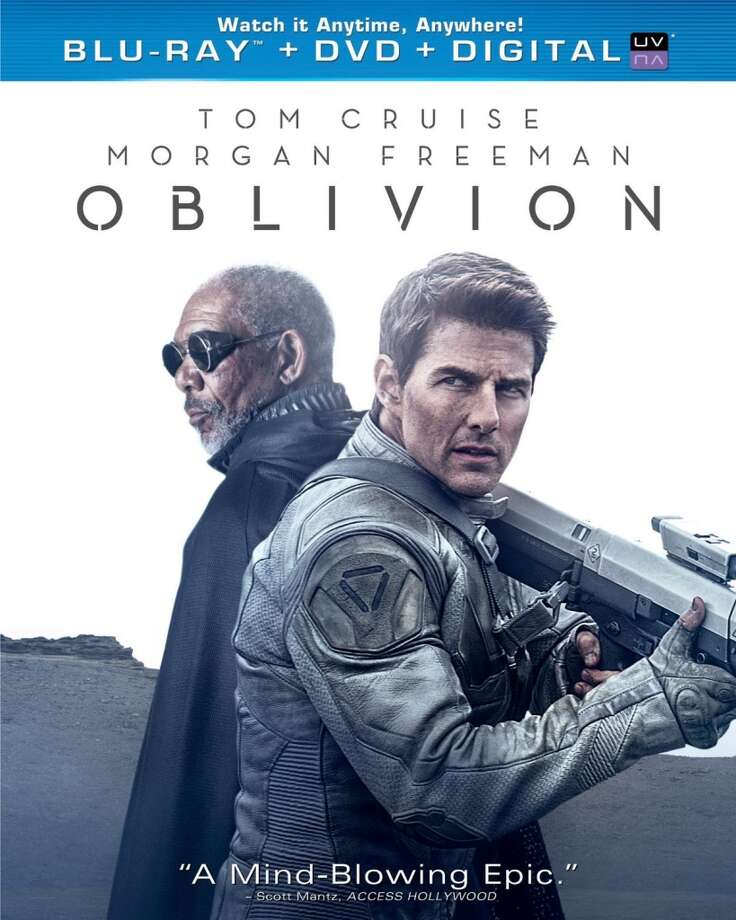 """Oblivion"" BD cover. Photo: 2013, Universal Studios"