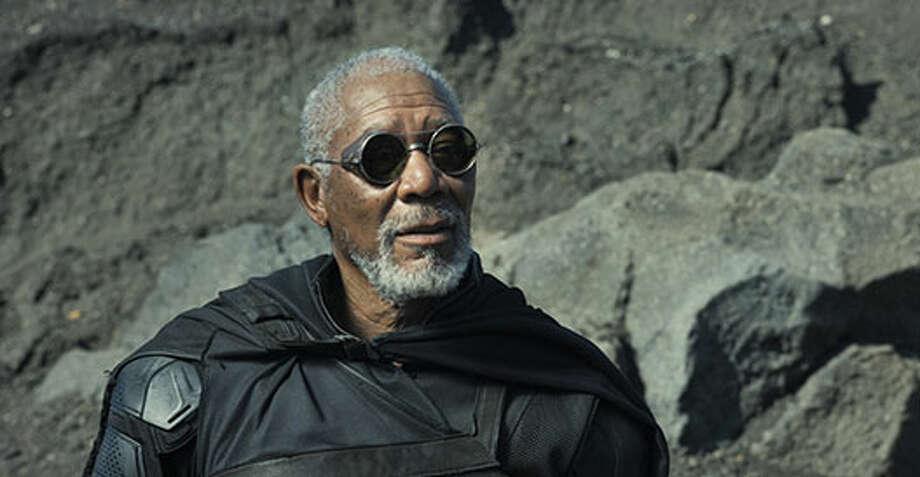 Beech (Morgan Freeman). Photo: Http://oblivionmovie.com, 2013, Universal Studios