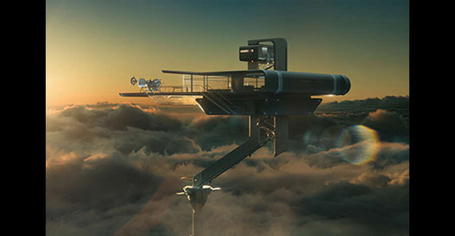 The Sky Tower. Photo: Http://oblivionmovie.com, 2013, Universal Studios