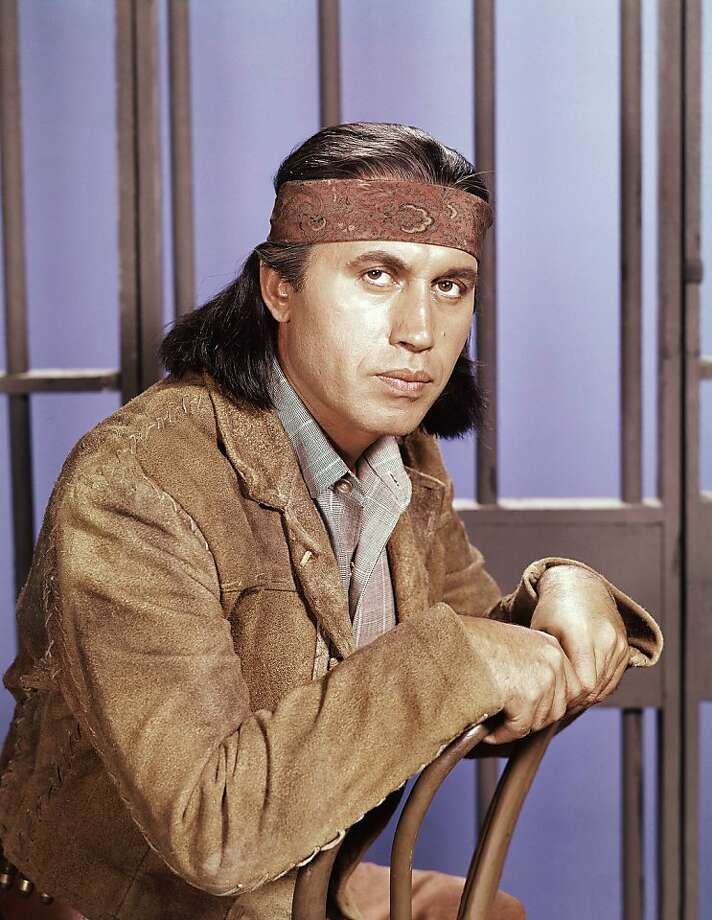 "Michael Ansara, in ""Law of the Plainsman"" TV series, played an Apache who was a U.S. marshal with a Harvard degree. Photo: Associated Press"