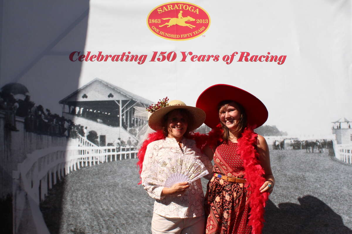 Were you Seen celebrating the 150th anniversary of the Saratoga Race Course in Saratoga Springs on Saturday, Aug. 3, 2013?