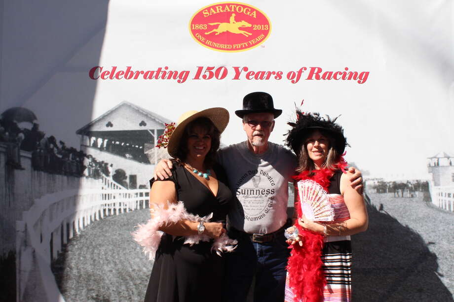 Were you Seen celebrating the 150th anniversary of the Saratoga Race Course in Saratoga Springs on Saturday, Aug. 3, 2013? Photo: SmileLoungePhotoBoothNY