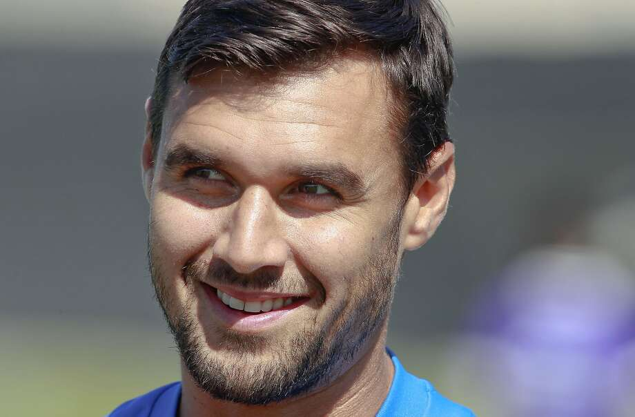 Chris Wondolowski was cheered by fans Monday. Photo: Michael Macor, San Francisco Chronicle