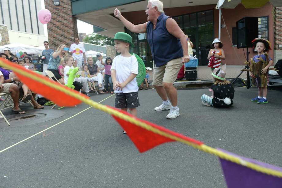 The 38th annual SoNo Arts Celebration takes place Saturday, Aug. 3, 2013 in Norwalk's Historic District at S. Main and Washington streets. Photo: Autumn Driscoll / Connecticut Post