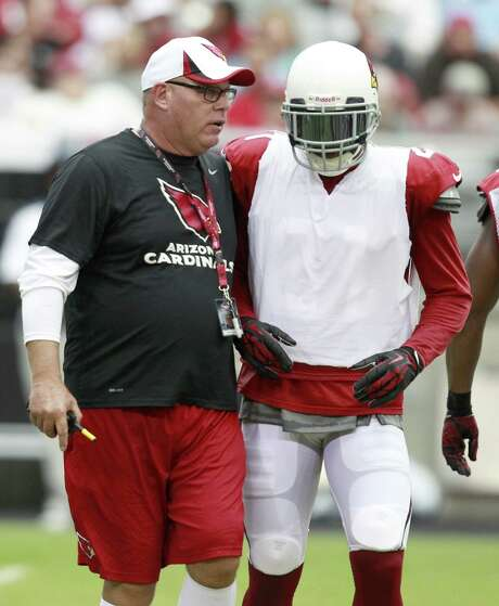 Cardinals coach Bruce Arians has plans to use cornerback Patrick Peterson's many talents on offense this season. Photo: Rick Scuteri / Associated Press