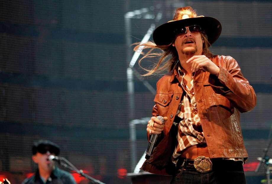 Kid Rock Photo: Mayra Beltran, Staff / © 2012 Houston Chronicle