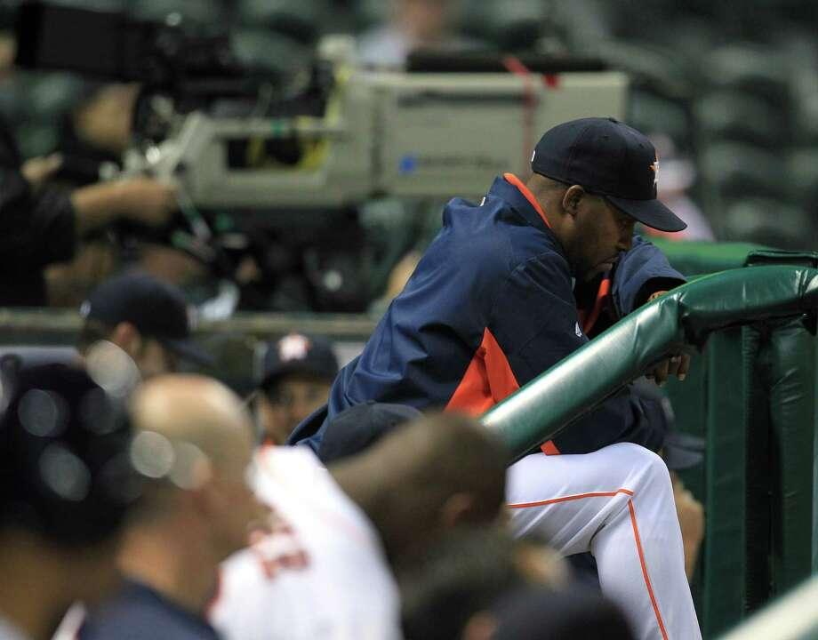 Bo Porter has had plenty of reasons to let 2013 get him down, but it hasn't. Photo: Karen Warren, Staff / © 2013 Houston Chronicle