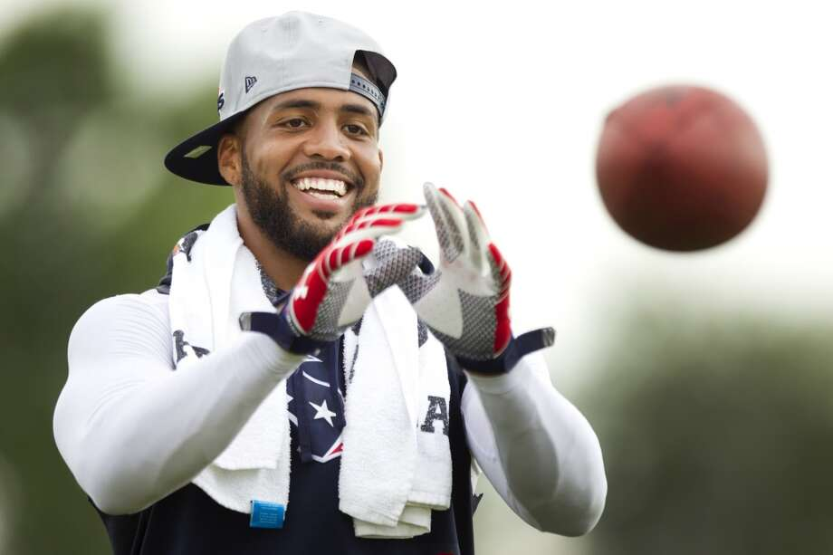 2013 Honorable mention: Arian Foster, Texans running back; Andre Johnson, Texans receiver; Rick Smith, Texans general manager; Bo Porter, Astros manager; Bob McNair, Texans owner; Super Bowl bid committee chairman Ric Campo, developer/real estate magnate. Photo: Brett Coomer, Chronicle