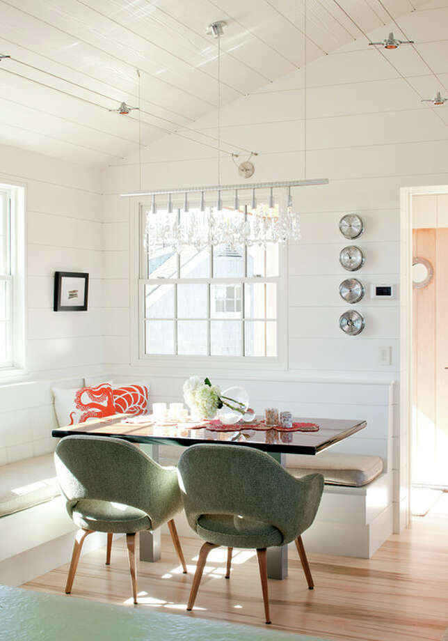 5. Look to midcentury modern icons when furniture shopping. A set of Eames Shell Chairs, Emeco Navy Chairs, Cesca chairs or Saarinen Executive Chairs will add a good dose of classic modern style to today's mix. Freshen them up with new upholstery or choose an unexpected color. Photo: Houzz.com