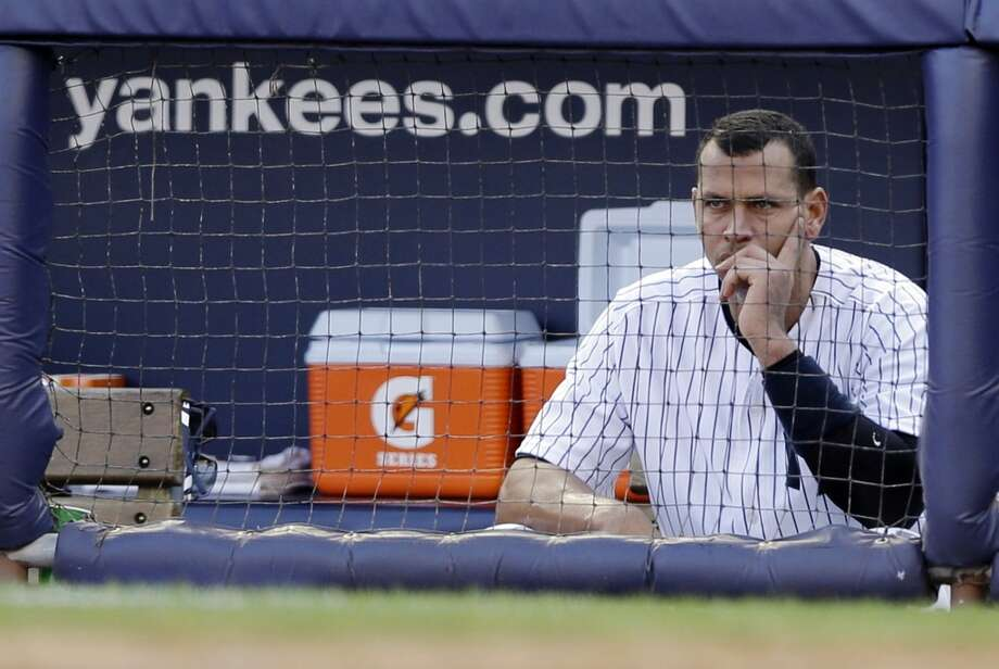"""Alex RodriguezAKA A-Rod, A-Fraud, A-Roid, Nimrod.  On the verge of being tossed out of baseball for cheating, lying, and recruiting others to do the same, Rodriguez recently said, """"I want to be a role model, continue to be a role model, especially to my two girls.""""  And I want to continue to be Kaiser Wilhelm. Photo: Matt Slocum, Associated Press"""
