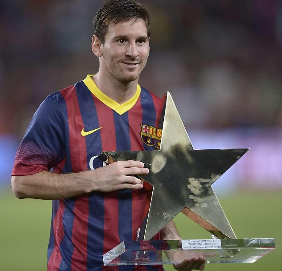 Lionel Messi Photo: Manu Fernandez, Associated Press