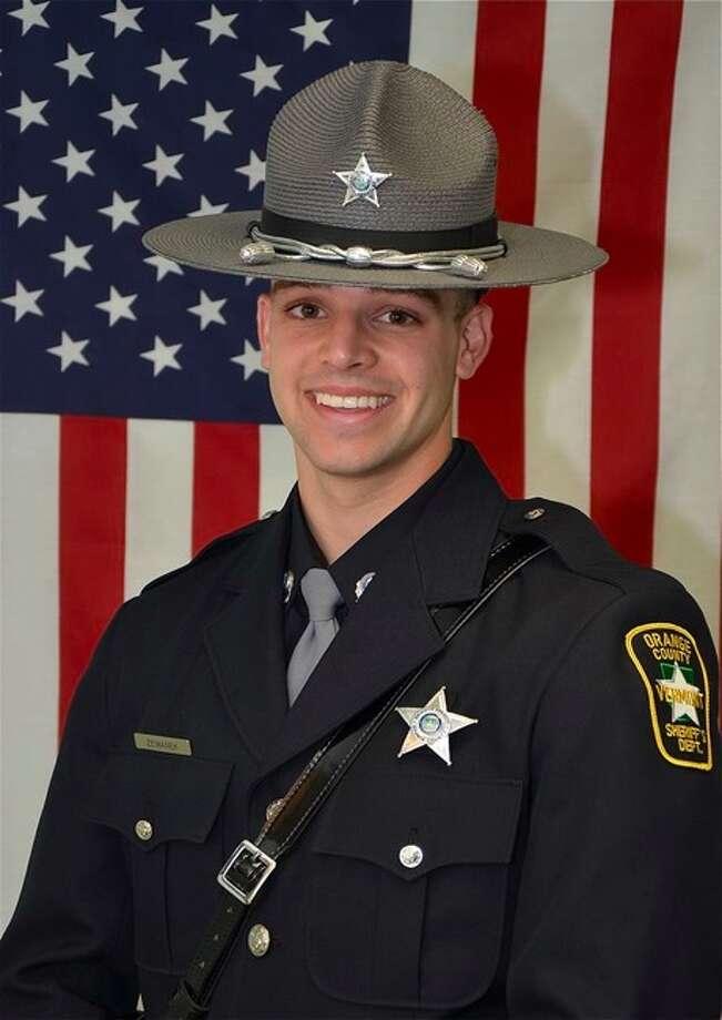Michael Zemanek (Orange County, Vermont, Sheriff's Department photo)