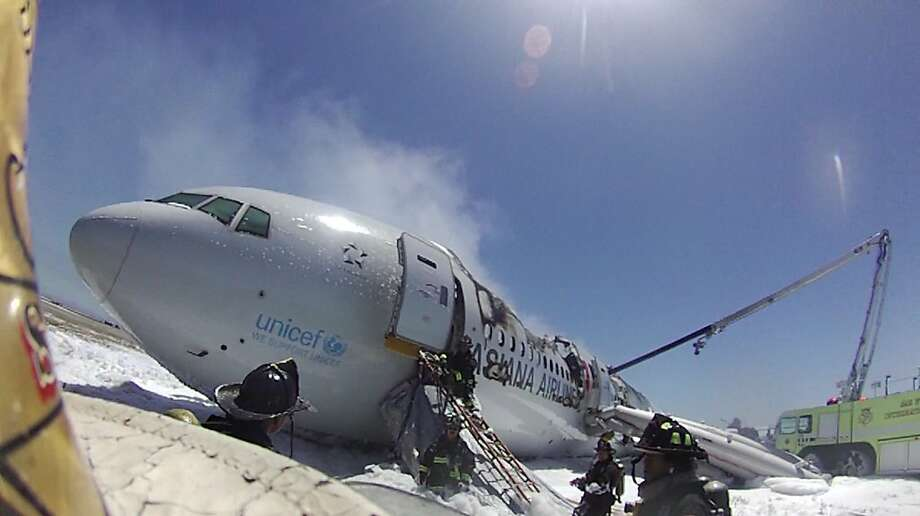 Interpreters are needed to assist in disasters such as the Asiana Airlines crash last month, seen here on an image from an S.F. fire battalion chief's helmet-mounted video camera.