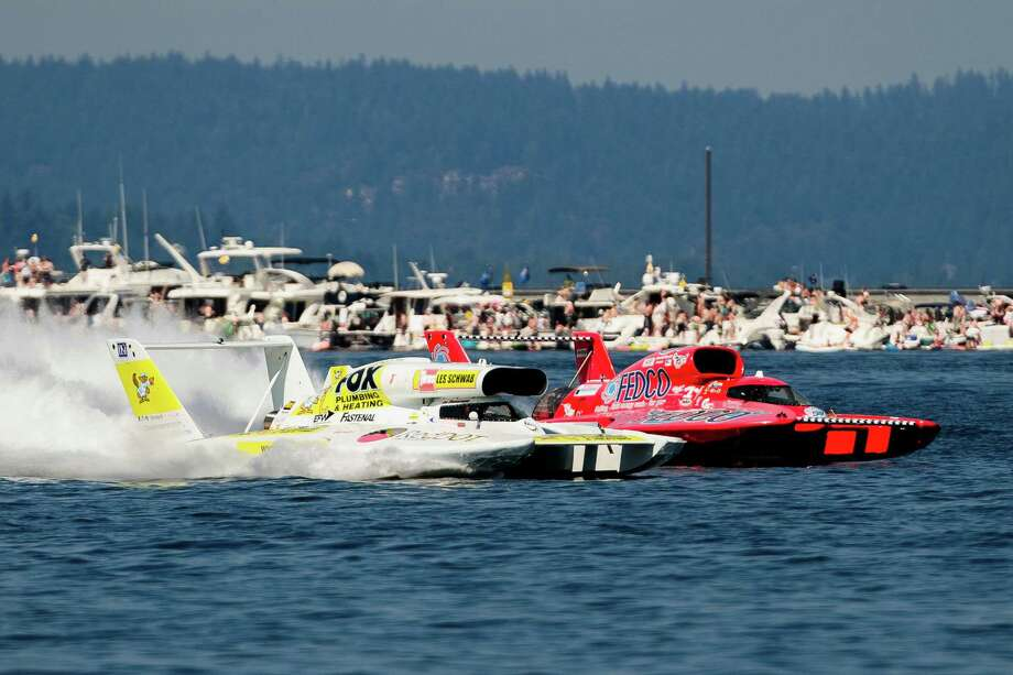Hydros compete in the H1 Provisional. Photo: JORDAN STEAD, SEATTLEPI.COM / SEATTLEPI.COM