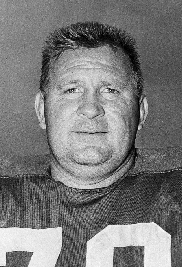 File- This Jan. 14, 1959 file photo shows Art Donovan, defensive tackle for the Baltimore Colts.  Donovan, the Hall of Fame defensive lineman who spent much of his 12-year career with the Baltimore Colts, has dead. He was 89. Donovan died Sunday Aug. 4, 2013 at 7:20 p.m. at Stella Maris Hospice in Baltimore, according to Kevin Byrne, senior vice president of the Baltimore Ravens. Back in the day when NFL players made little money, the 6-foot-3, 265-pound Donovan played for the love of the game and the thrill of winning. He helped the Colts win championships in 1958 and 1959. (AP Photo/File) ORG XMIT: NY156 / AP