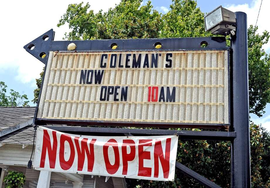 Coleman's Burger Deli is the Cat5 restaurant of the week for August 1, 2013. Photo taken: Randy Edwards/The Enterprise