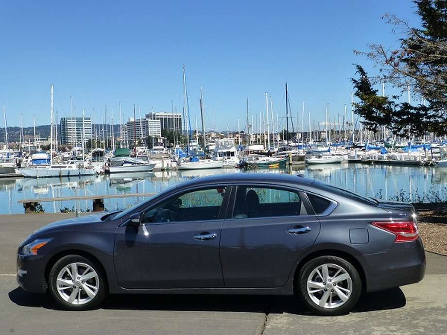 The 2013 Nissan Altima runs in that very crowded pack of midsize sedans, typified by Toyota's Camry and Honda's Accord. (All photos by Michael Taylor)