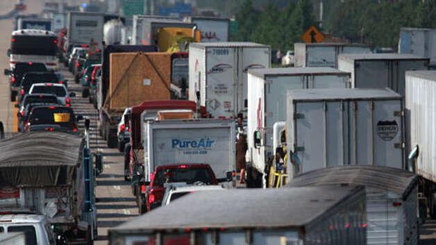 Interstate 45 near Texas 242 north of Shenandoah, said Department ...