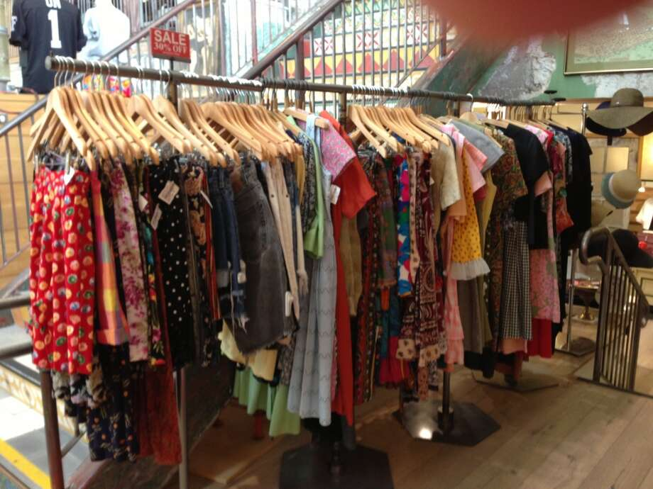 Old and In: Vintage garments, 30 percent off, at Industrie Denim. Photo: Kimberly Chun