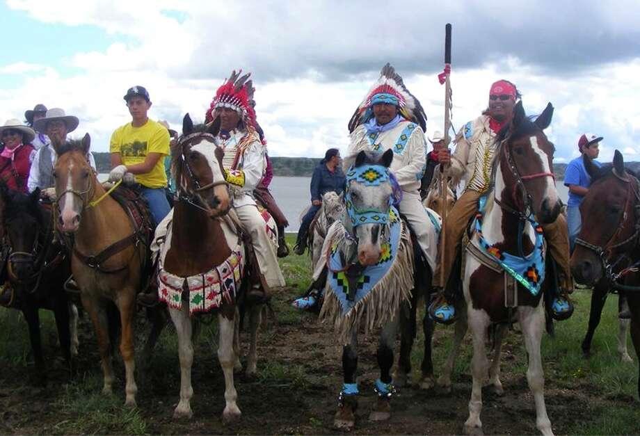 The Dakota Nation Unity Riders. Photo: Contributed