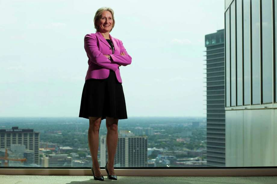 Cathy B. Smith, attorney with Vinson & Elkins, August 2, 2013 in Houston. Photo: Eric Kayne, For The Chronicle / ©2013 Eric Kayne