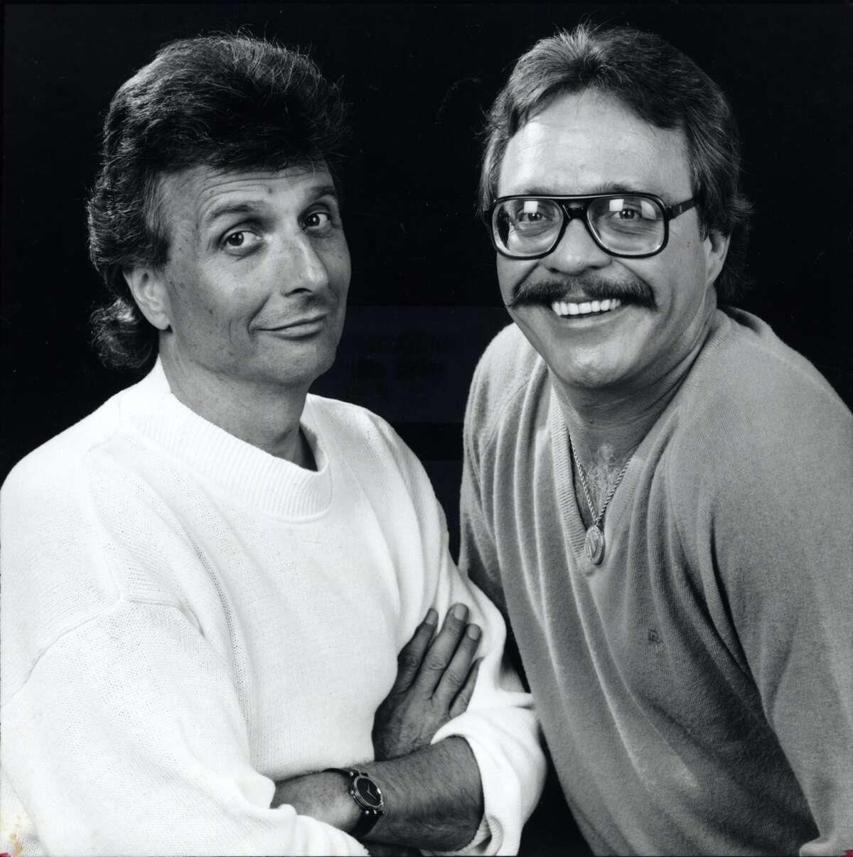 Mark Stevens and Jim Pruett