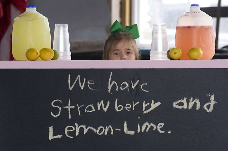 The secretof 7-year-old entrepreneur Olivia McClusky's lemonade startup in 