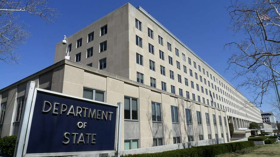 File - The Harry S. Truman Building, headquarters for the State Department, is seen in Washington, in this March 9, 2009 file photo. The United States issued an extraordinary global travel warning to Americans Friday Aug. 2, 2013 about the threat of an al-Qaida attack and closed down 21 embassies and consulates across the Muslim world for the weekend. The alert was the first of its kind since an announcement preceding the tenth anniversary of the 9/11 terrorist attacks. (AP Photo/J.  Scott Applewhite, File) Photo: J. Scott Applewhite, Associated Press