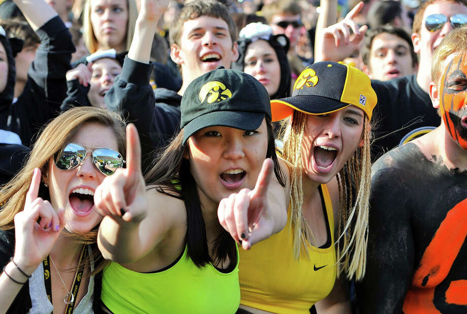 2. University of Iowa Photo: David Purdy, Getty Images / 2010 Getty Images