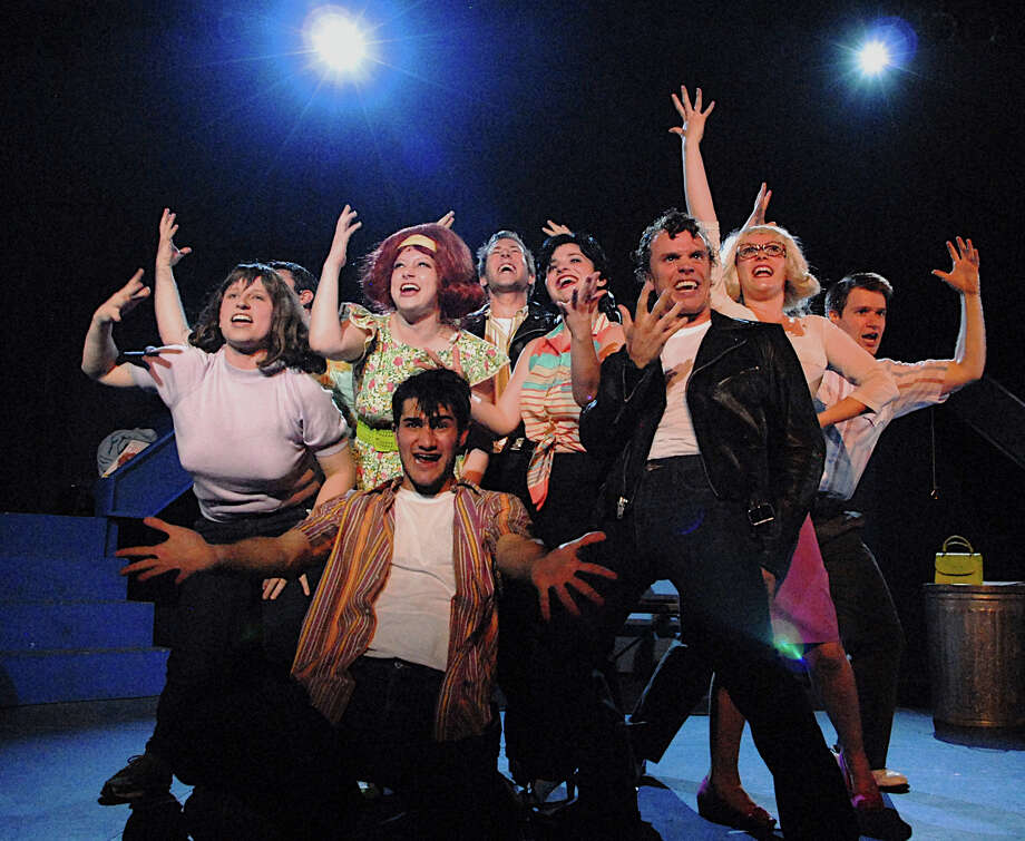 "The Summer Theatre of New Canaan's production of ""Grease"" concludes on Sunday, Aug. 11, at Waveny Park. Photo: Contributed"