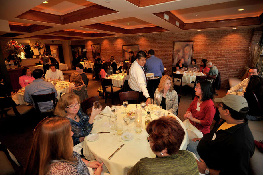 Diners pack Columbus Park Trattoria in Stamford, Conn. Photo: Jason Rearick, File Photo / Stamford Advocate