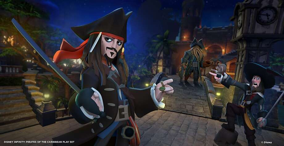 """Pirates of the Caribbean"" is among several play sets available for the ""Disney Infinity"" video game. Photo: Associated Press"